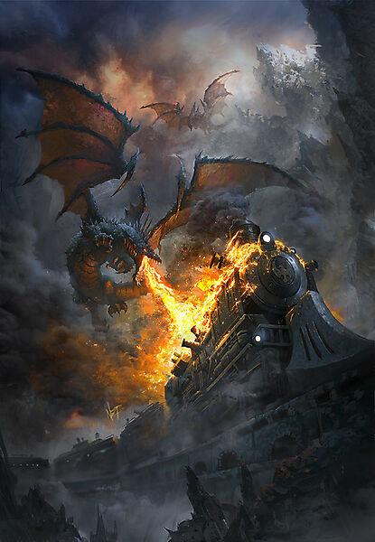 Драконы атакуют поезд