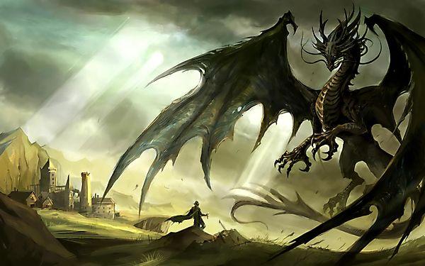 Мер города пытается заключить мир с драконом
