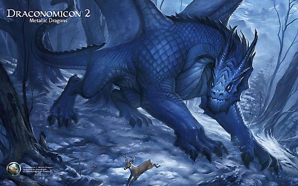 Большой дракон и маленький олень