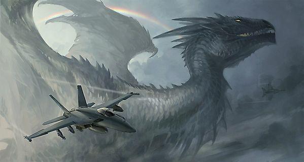 Дракон и самолеты