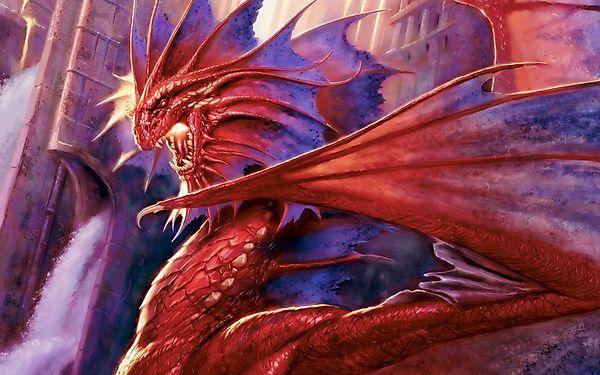 Дракон готовится атаковать