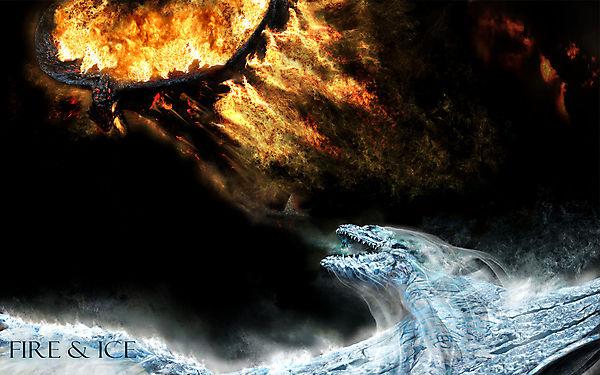 Драконы из фильма Огонь и Лед