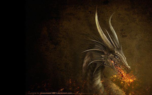 Красивая картинка с драконом