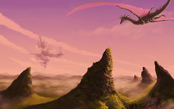 Дракон и летящий замок