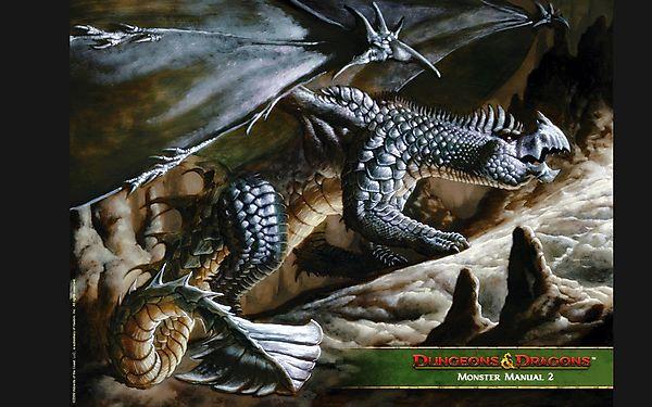 Дракон из Dungeons and Dragons
