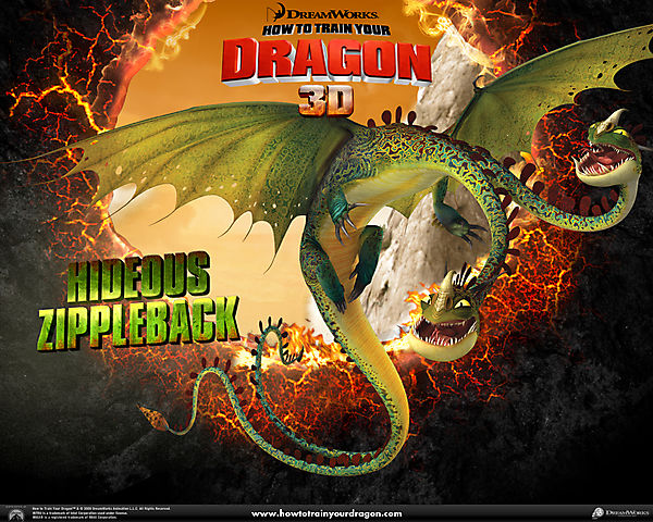 Дракон из мультфильма Как приручить дракона