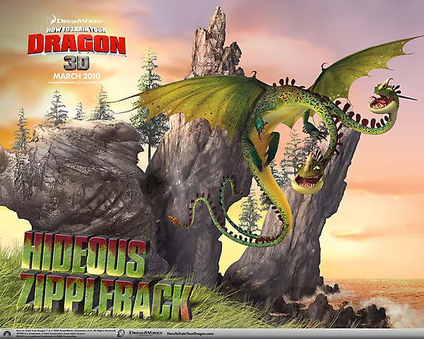 Как приручить дракона - Кошмарный Пристеголов