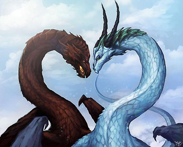 Драконья любовь