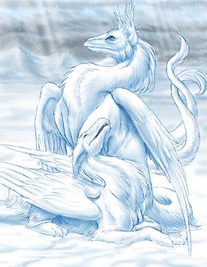 Снежные существа