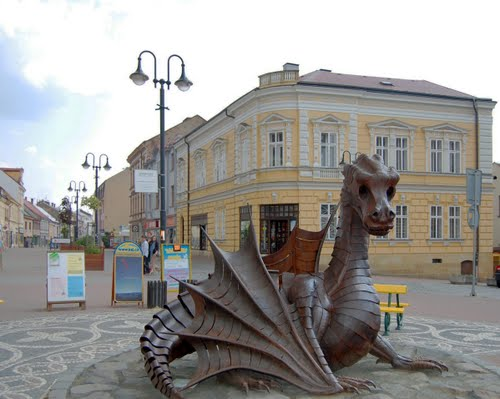 Йичинский дракон, Чехия