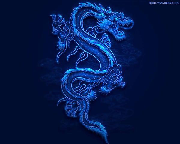 Эмблемка восточного дракона