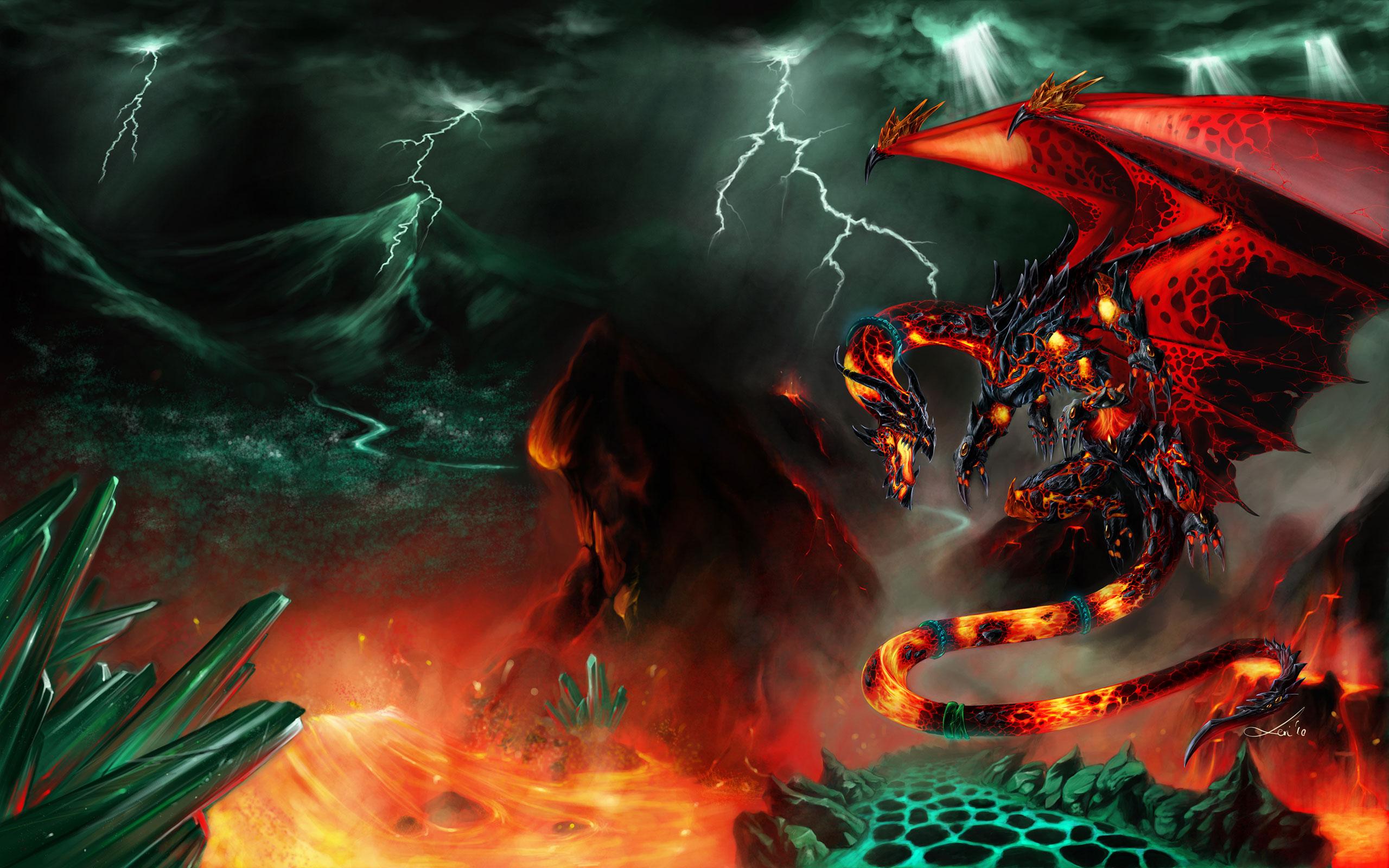 Картинки горящие драконы