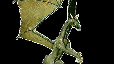 Дракон потирает лапы перед взлётом