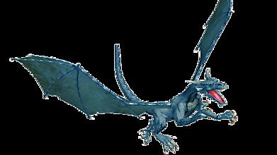 Дракон атакует в полёте