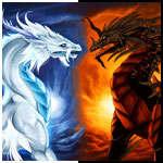 Аватары с драконами