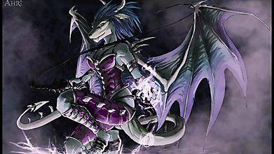 Великолепие драконьей дамы