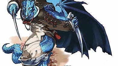 Саблепалый дракон
