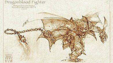 Свирепый драконий боец