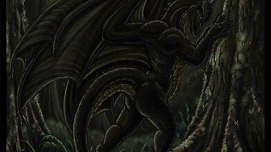 Дракон, охваченный отчаянием