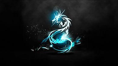 Неоновый дракон