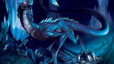 Дракон на черепах