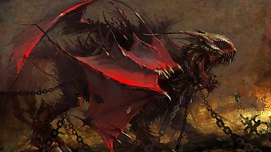 Дракон в цепях