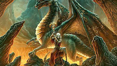 Дракон и волшебница