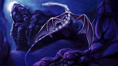 Светящийся дракон