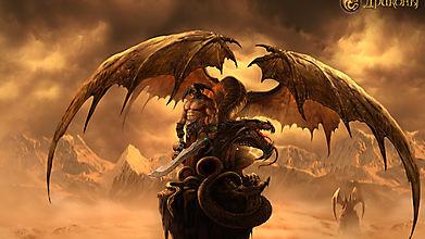 Дракон и воин