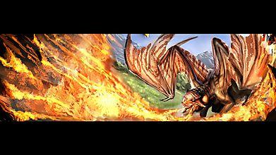 Дракон и пламя