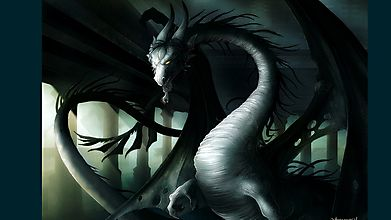 Рогатый дракон