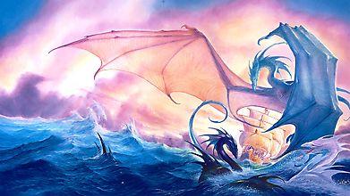 Драконы вокруг корабля