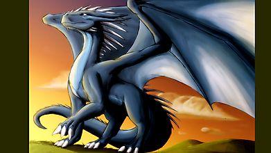 Дракон осматривает свои поля