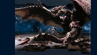 Настоящая драконовская громадина