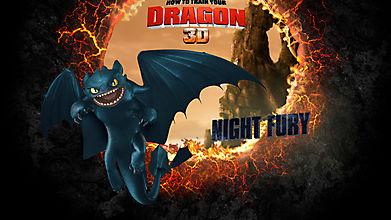 Дракон Ночная фурия