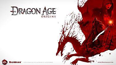 Официальная обложка к игре Dragon Age