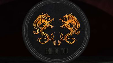 Символ с двумя драконами