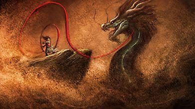 Восточный дракон и ребенок