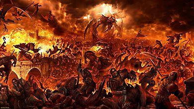 Дракон в великой битве