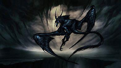 Черный дракон из бездны