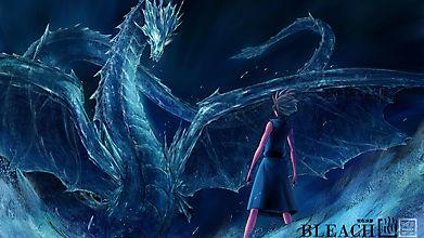 Ледяной дракон из Bleach