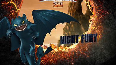 Ночная фурия Беззубик