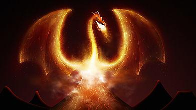 Вулкан пробудил огненного дракона