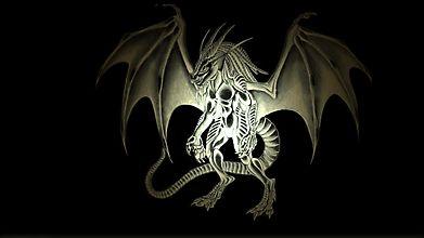 Дракон на двух ногах