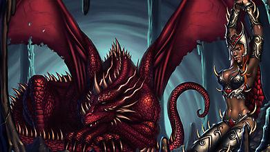 Охотница на драконов угодила в ловушку