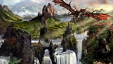 Дракон в магических землях
