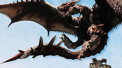 Дракон из Monster Hunter