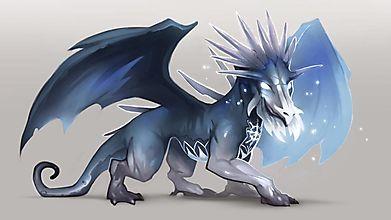 Морозный дракон