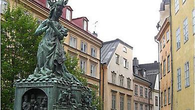 Скульптура Святого Георгия, Швеция