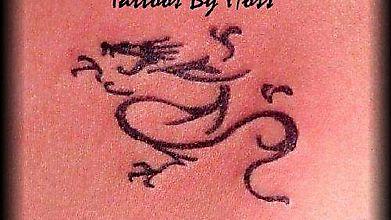 Лёгкий рисунок дракона